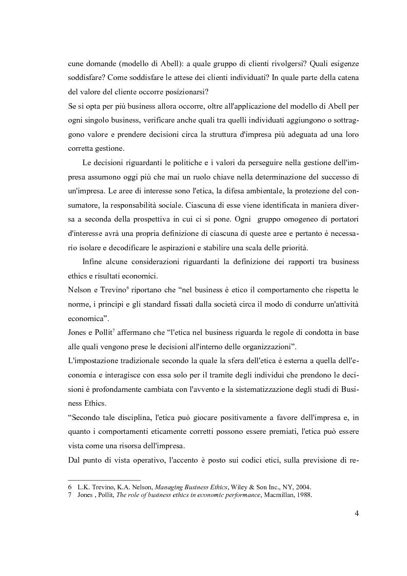 Anteprima della tesi: Constituencies management e gestione strategica: la reputazione d'impresa nel settore farmaceutico, Pagina 6
