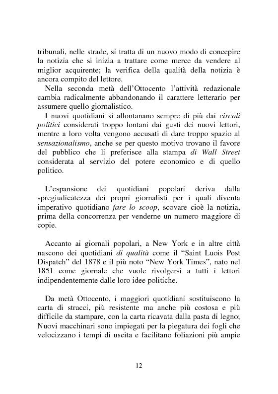 Anteprima della tesi: Notizia Promozionale, la notizia fra obiettivo pubblico e pubblico obiettivo, Pagina 12