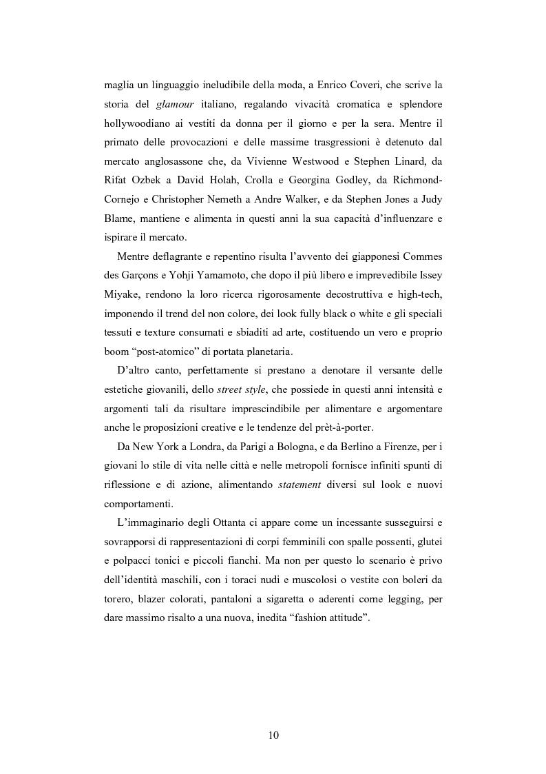 Anteprima della tesi: Maglia e sistema moda. L'esperienza di Miss Deanna Ferretti Veroni, Pagina 10