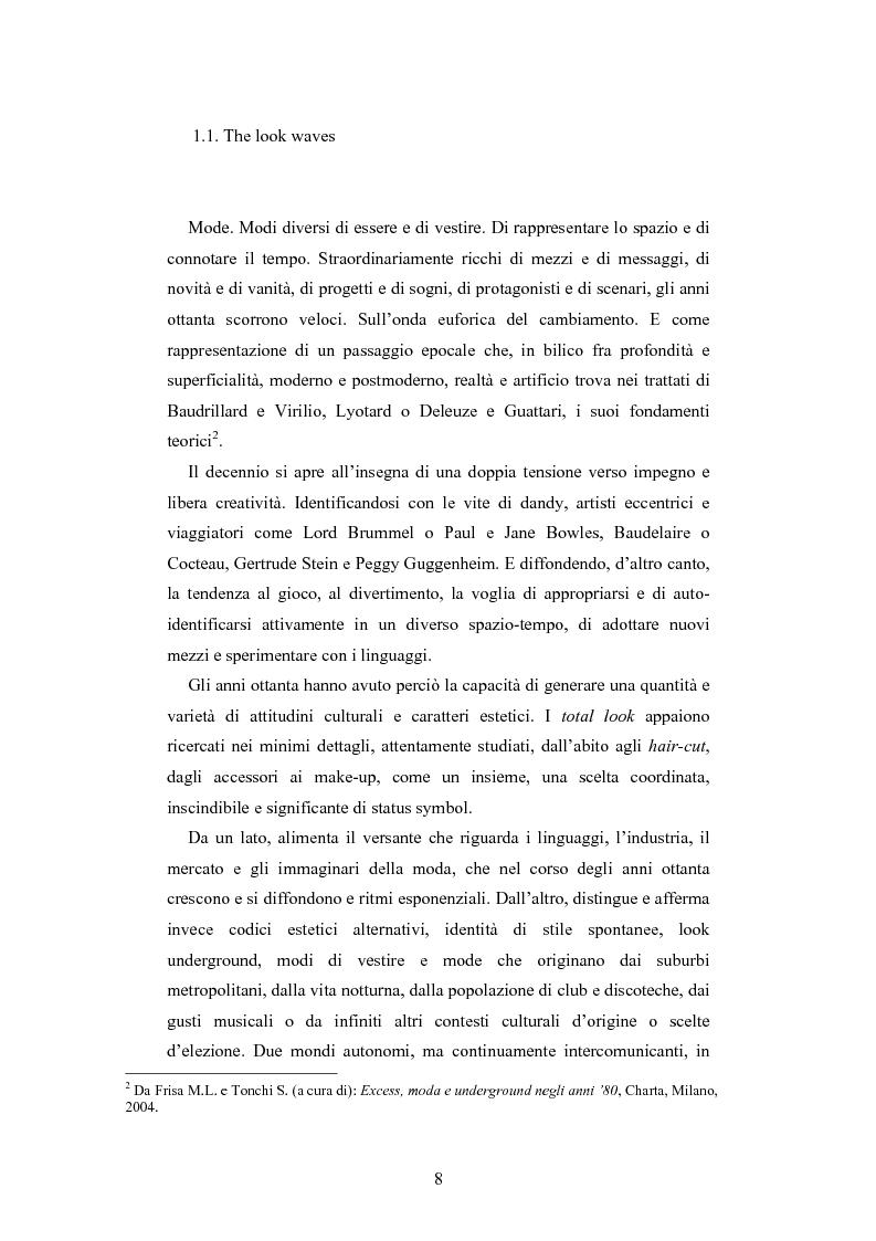 Anteprima della tesi: Maglia e sistema moda. L'esperienza di Miss Deanna Ferretti Veroni, Pagina 8