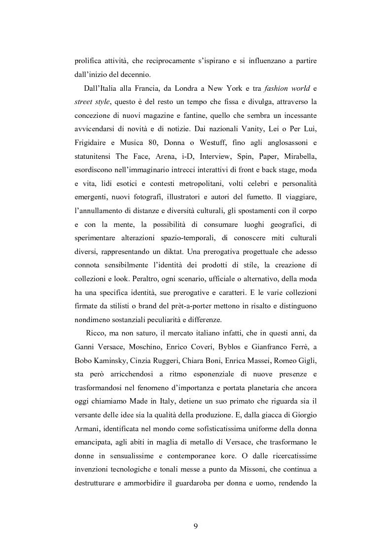 Anteprima della tesi: Maglia e sistema moda. L'esperienza di Miss Deanna Ferretti Veroni, Pagina 9