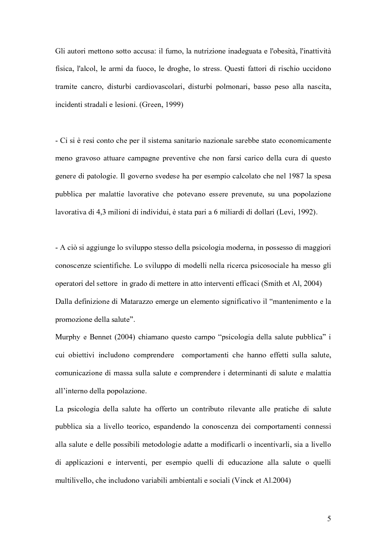 Anteprima della tesi: I fattori di resilienza allo stress: una ricognizione bibliografica, Pagina 4