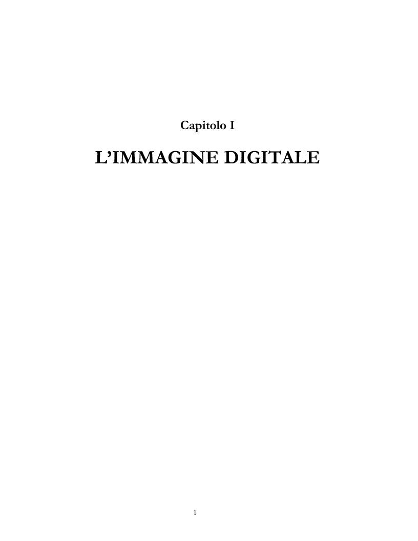 Anteprima della tesi: Elementi e Composizione di un Cd Interattivo, Pagina 1