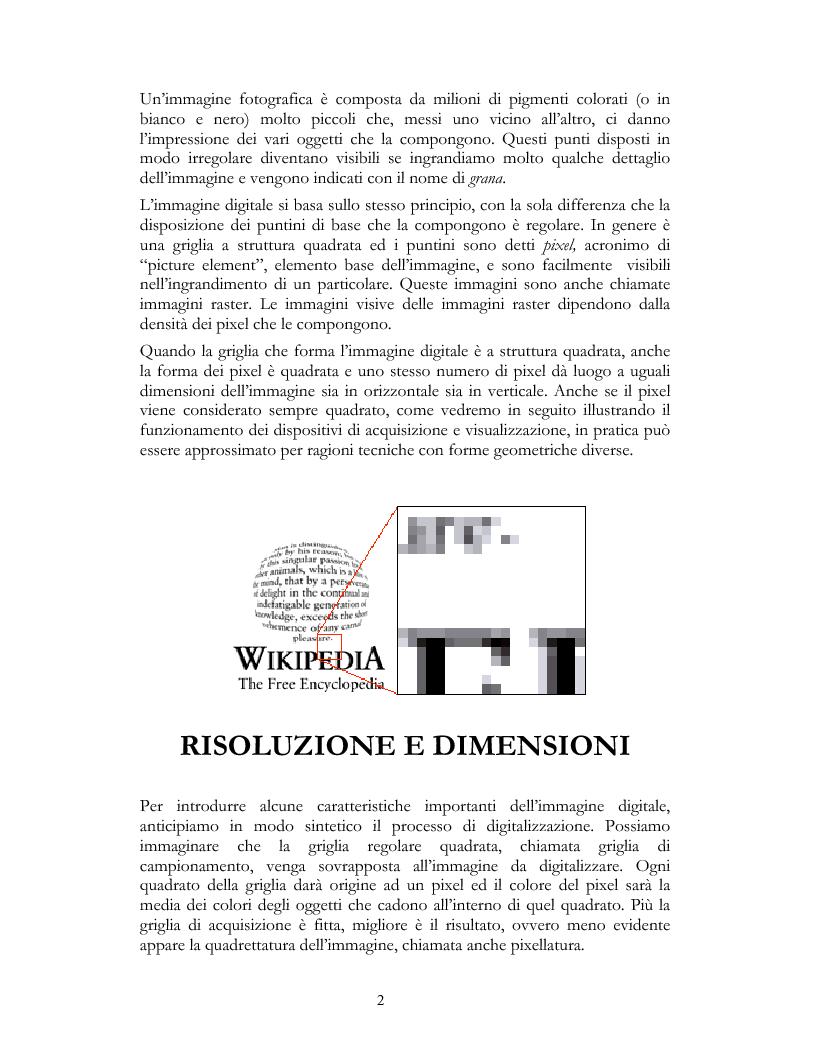 Anteprima della tesi: Elementi e Composizione di un Cd Interattivo, Pagina 2