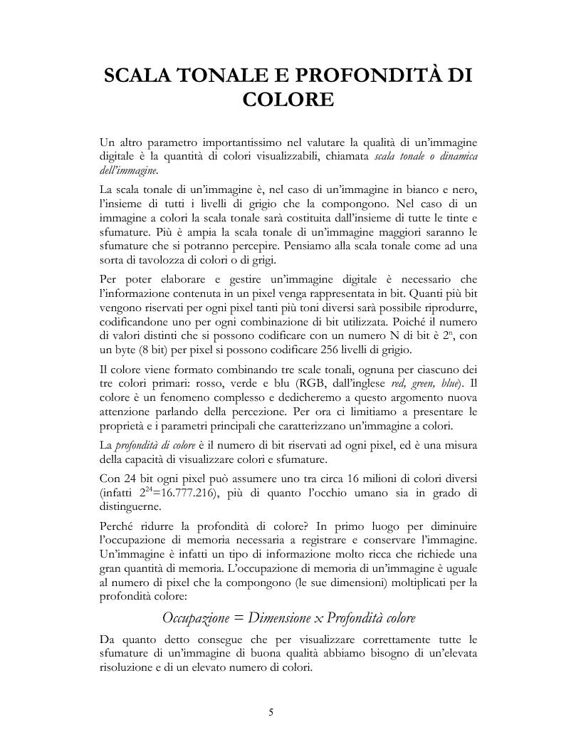 Anteprima della tesi: Elementi e Composizione di un Cd Interattivo, Pagina 5