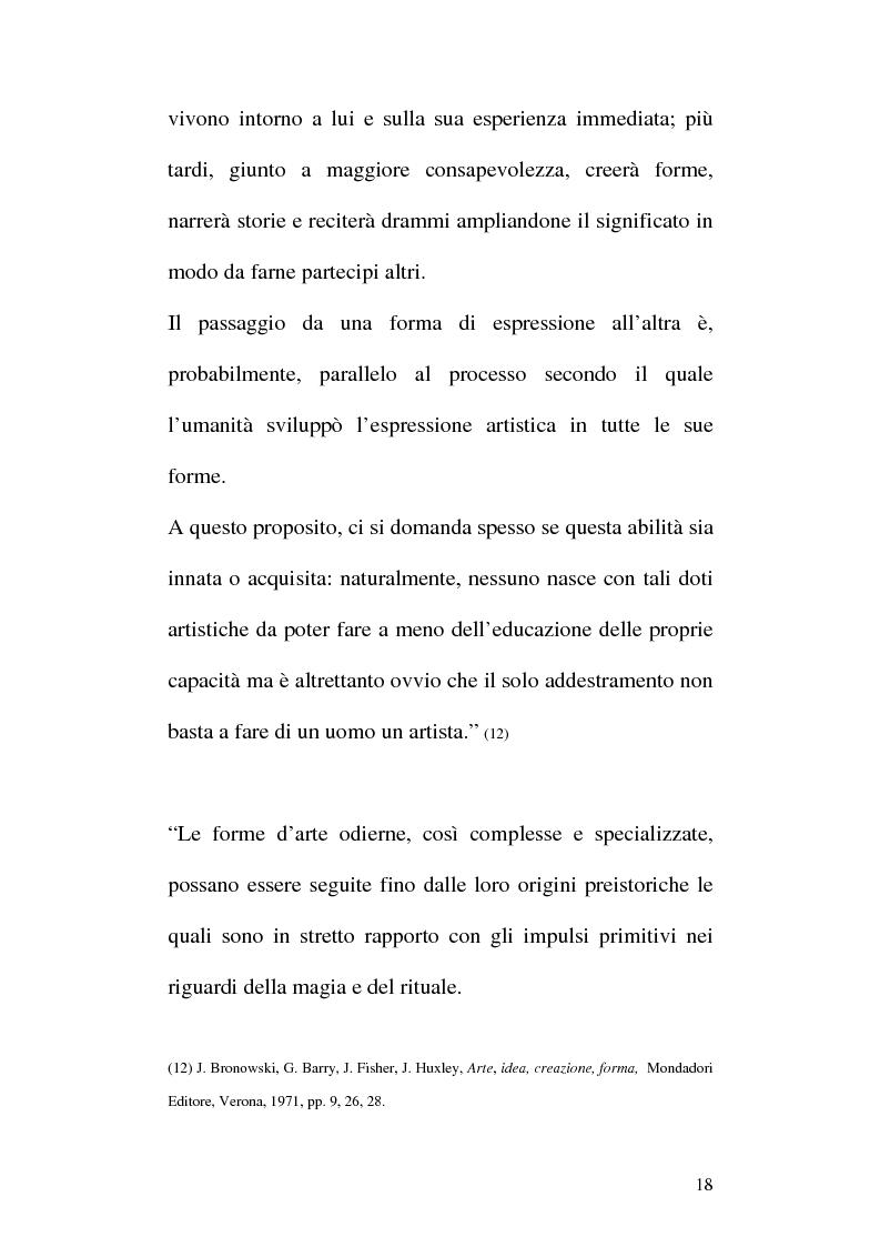 Anteprima della tesi: Arte e Pubblicità: evoluzione, utilizzo e sfruttamento dell'arte nella comunicazione pubblicitaria, Pagina 15