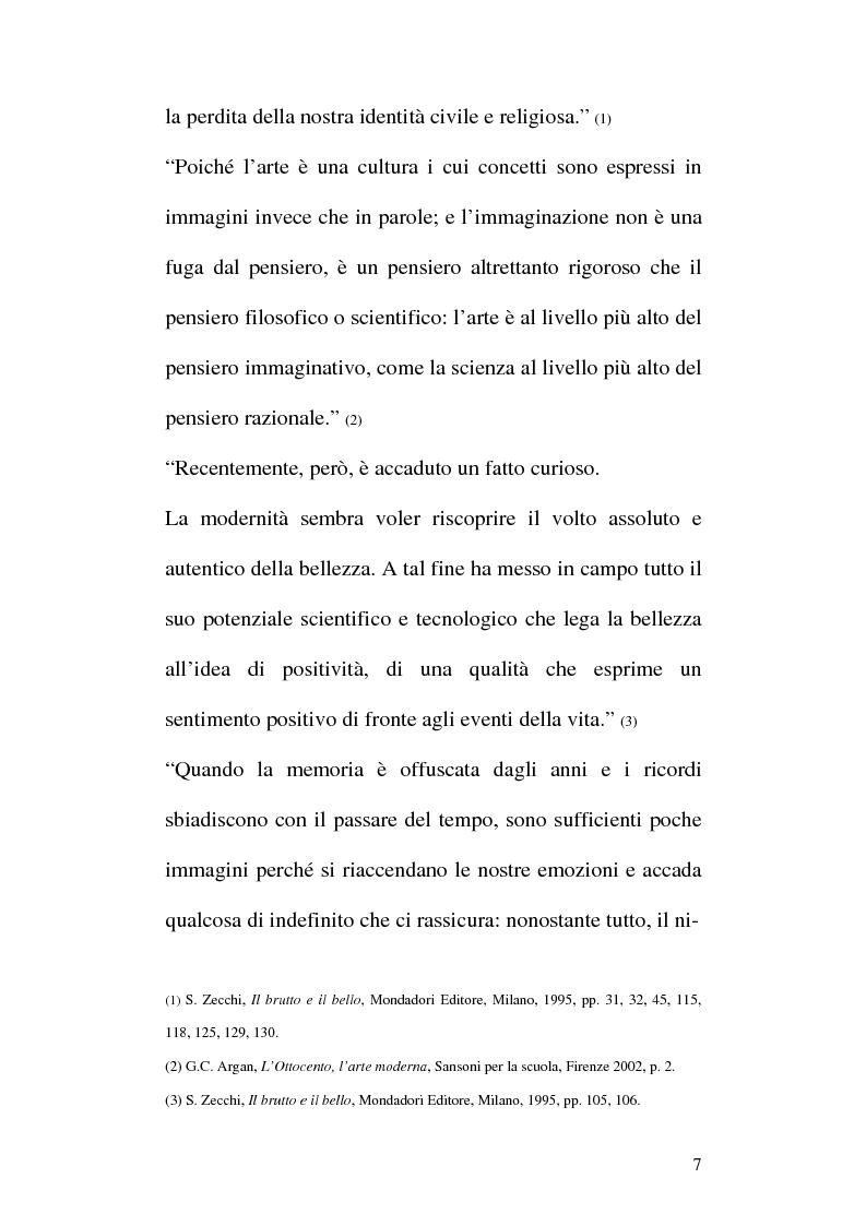 Anteprima della tesi: Arte e Pubblicità: evoluzione, utilizzo e sfruttamento dell'arte nella comunicazione pubblicitaria, Pagina 4