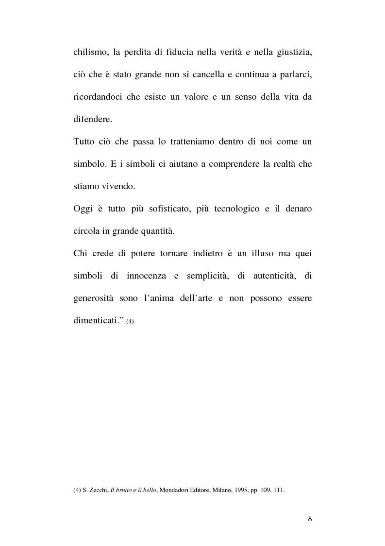 Anteprima della tesi: Arte e Pubblicità: evoluzione, utilizzo e sfruttamento dell'arte nella comunicazione pubblicitaria, Pagina 5