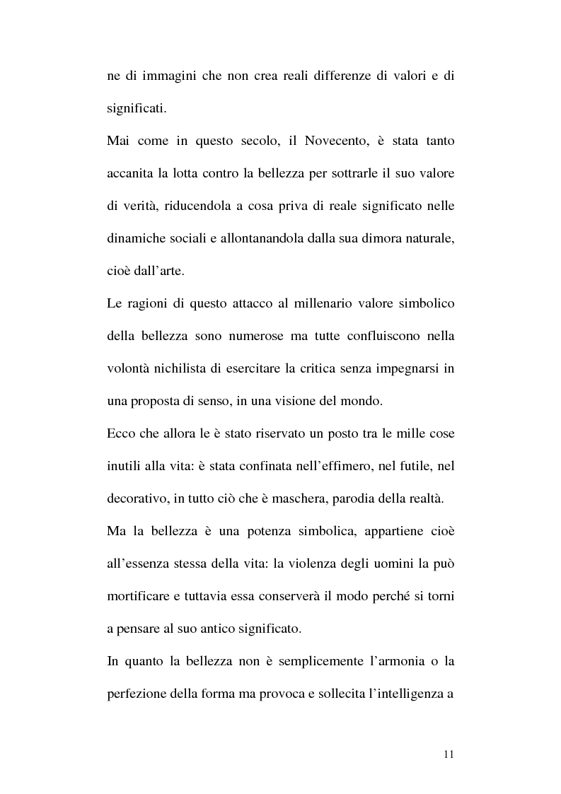 Anteprima della tesi: Arte e Pubblicità: evoluzione, utilizzo e sfruttamento dell'arte nella comunicazione pubblicitaria, Pagina 8