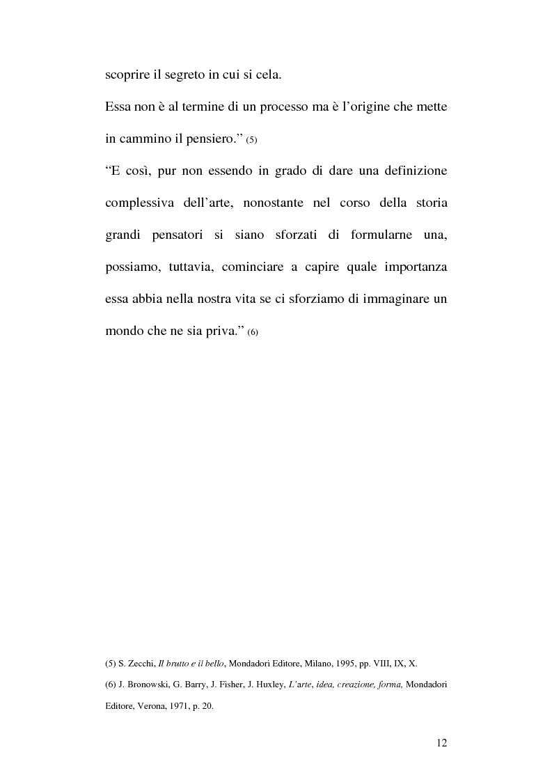Anteprima della tesi: Arte e Pubblicità: evoluzione, utilizzo e sfruttamento dell'arte nella comunicazione pubblicitaria, Pagina 9