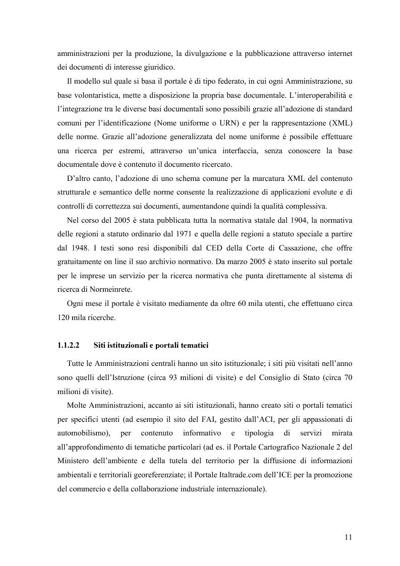 Anteprima della tesi: Lo stato delle intranet nelle Pubbliche Amministrazioni, Pagina 9