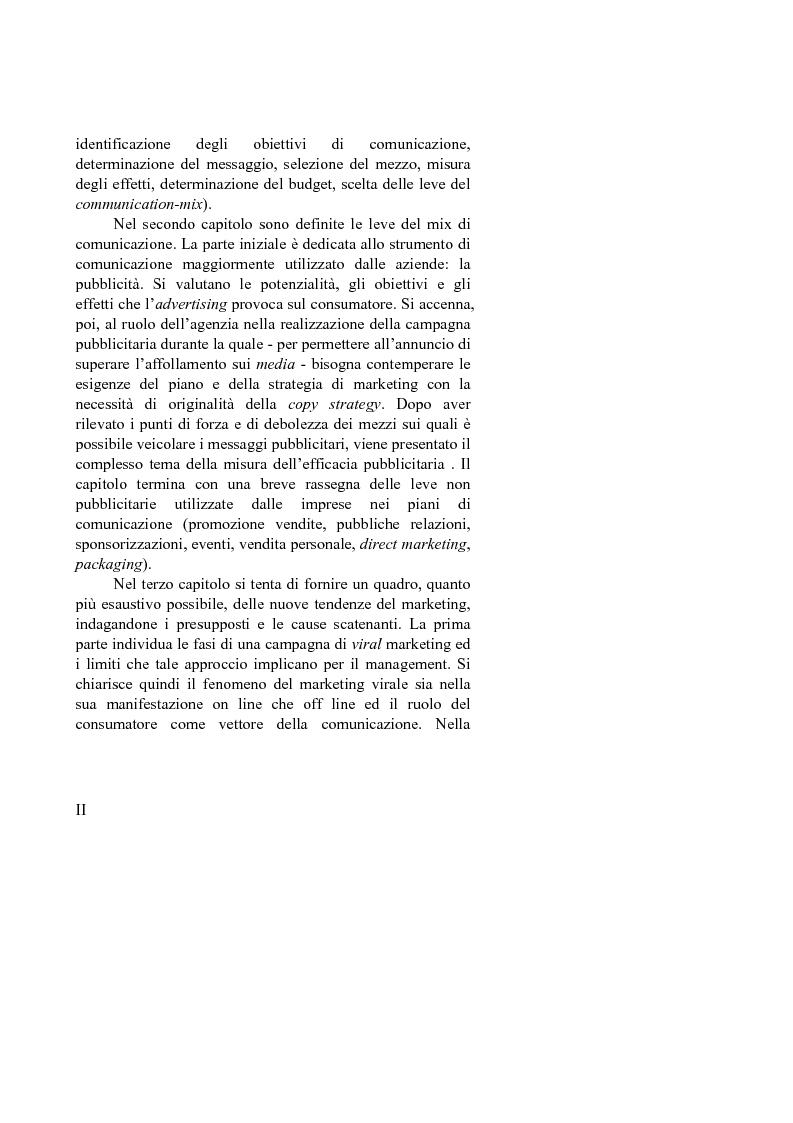 Anteprima della tesi: L'evoluzione delle strategie di comunicazione: dall'advertising al marketing non convenzionale. Case history: Come Red Bull ti mette le ali, Pagina 2