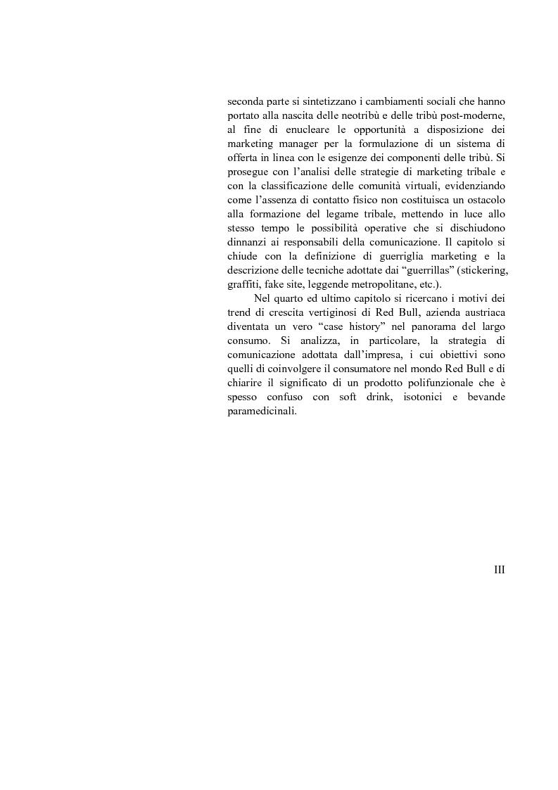 Anteprima della tesi: L'evoluzione delle strategie di comunicazione: dall'advertising al marketing non convenzionale. Case history: Come Red Bull ti mette le ali, Pagina 3