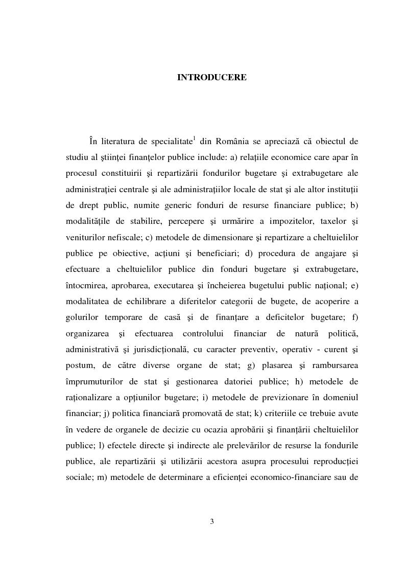 Anteprima della tesi: Datoria publica, Pagina 1