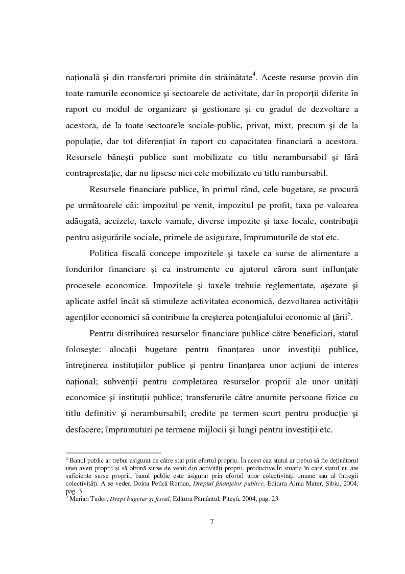 Anteprima della tesi: Datoria publica, Pagina 5