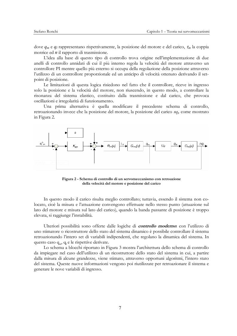 Anteprima della tesi: Modellistica e analisi delle prove sperimentali su un giunto robotico per applicazioni spaziali, Pagina 4