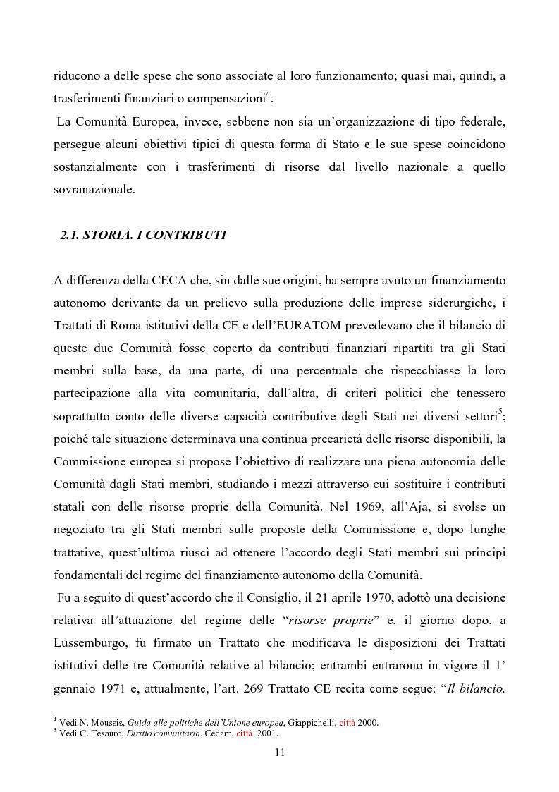 Anteprima della tesi: La tutela degli interessi finanziari nell'Unione europea, Pagina 4