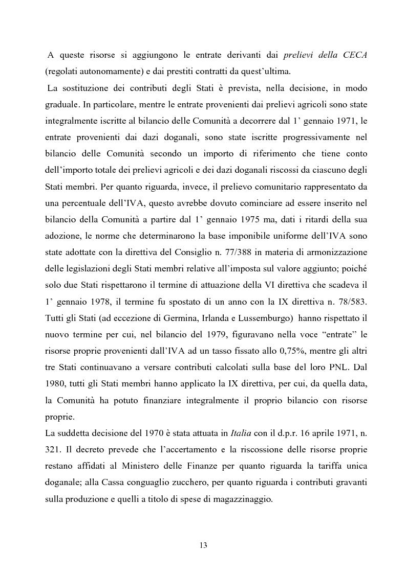 Anteprima della tesi: La tutela degli interessi finanziari nell'Unione europea, Pagina 6