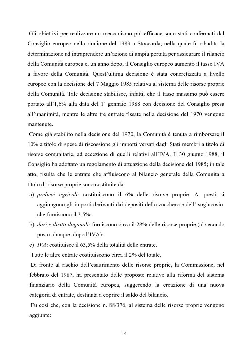 Anteprima della tesi: La tutela degli interessi finanziari nell'Unione europea, Pagina 7