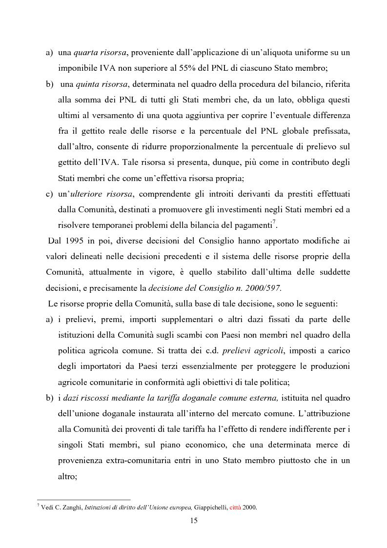Anteprima della tesi: La tutela degli interessi finanziari nell'Unione europea, Pagina 8