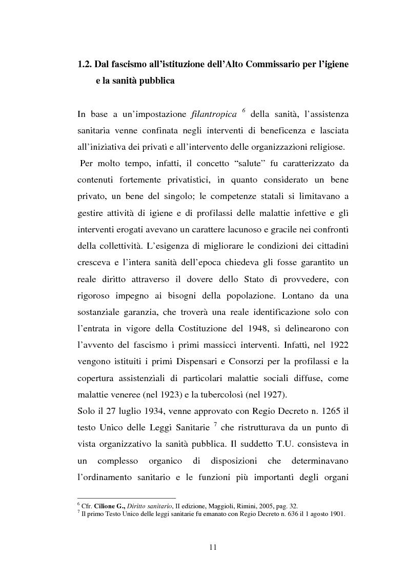 Anteprima della tesi: L'Azienda ospedaliera universitaria, Pagina 11