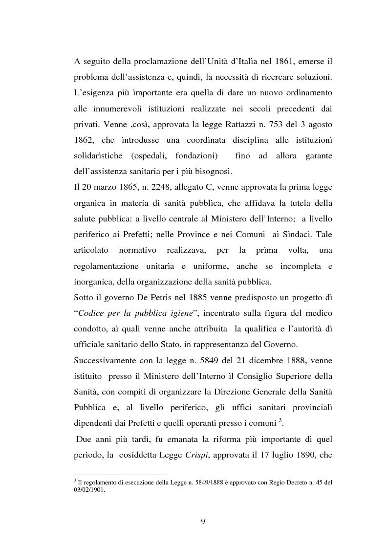 Anteprima della tesi: L'Azienda ospedaliera universitaria, Pagina 9