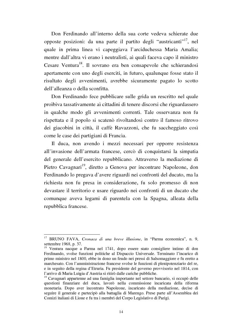 Anteprima della tesi: Mademoiselle Françoise Raucourt prima attrice della Comédie-Française e della Compagnia Imperiale e Reale a Parma (1807-1813), Pagina 12
