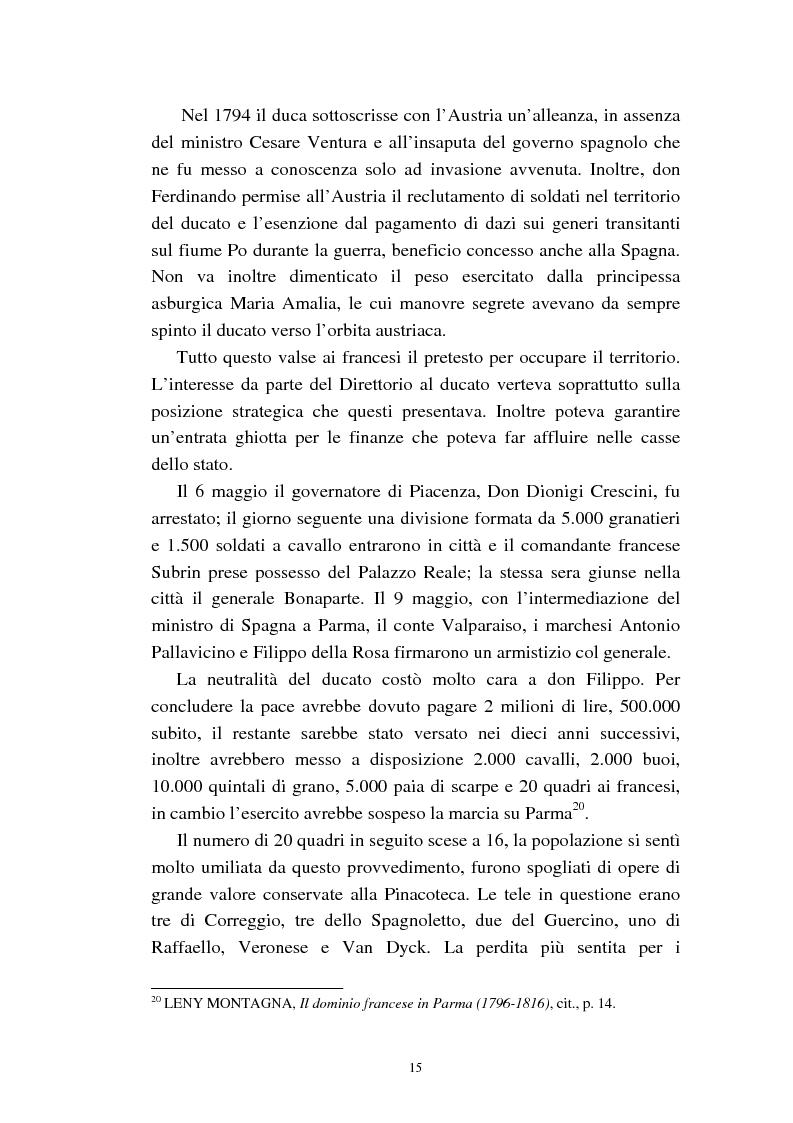 Anteprima della tesi: Mademoiselle Françoise Raucourt prima attrice della Comédie-Française e della Compagnia Imperiale e Reale a Parma (1807-1813), Pagina 13