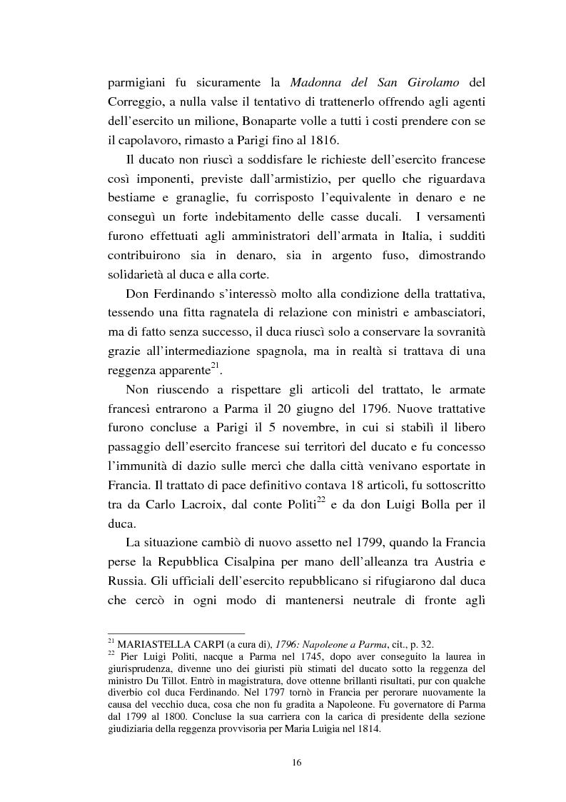 Anteprima della tesi: Mademoiselle Françoise Raucourt prima attrice della Comédie-Française e della Compagnia Imperiale e Reale a Parma (1807-1813), Pagina 14