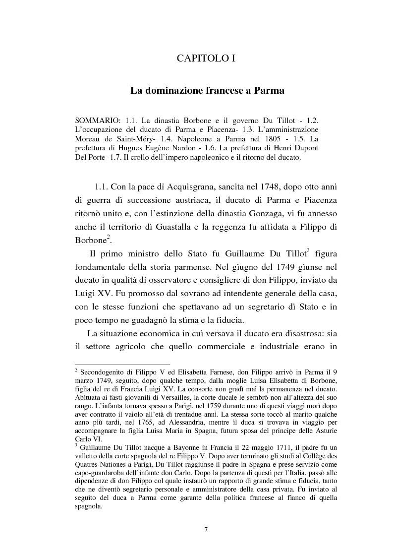Anteprima della tesi: Mademoiselle Françoise Raucourt prima attrice della Comédie-Française e della Compagnia Imperiale e Reale a Parma (1807-1813), Pagina 5