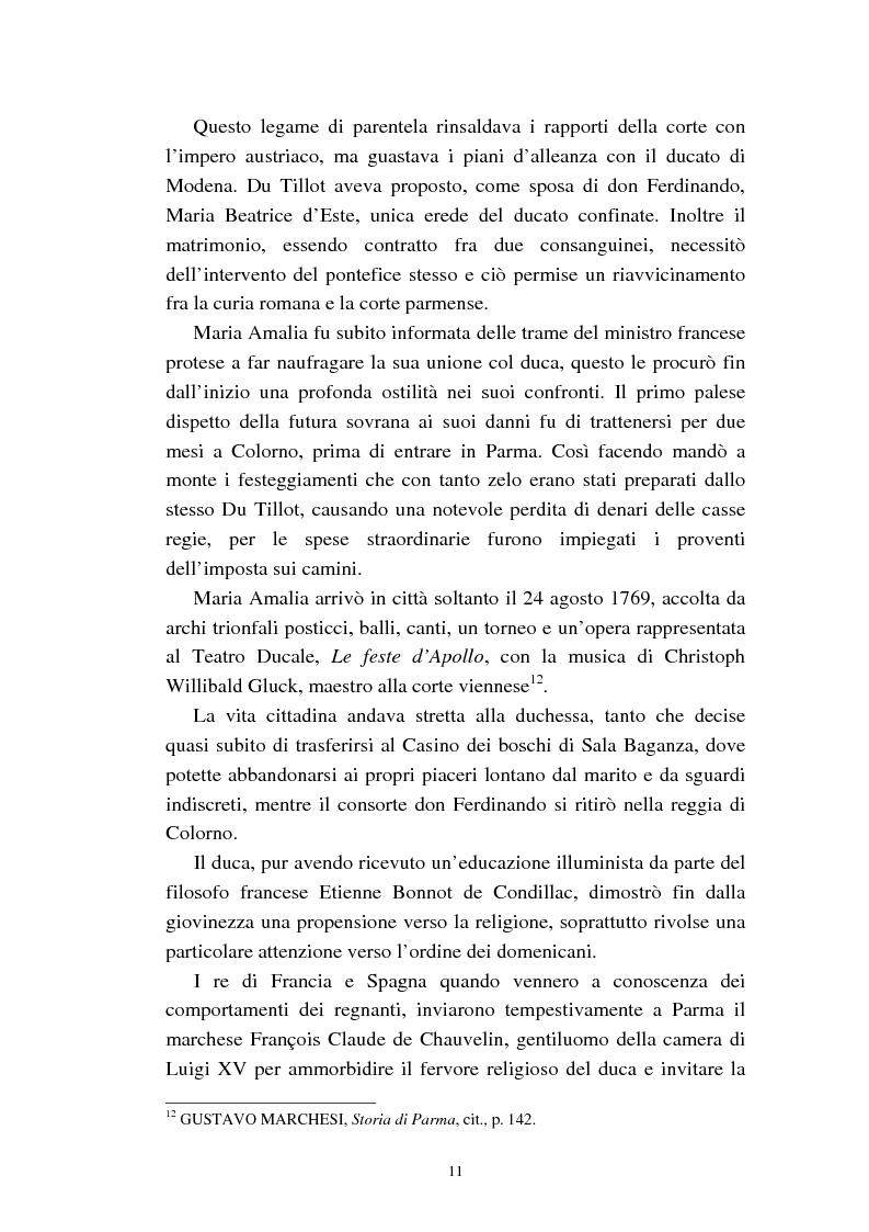 Anteprima della tesi: Mademoiselle Françoise Raucourt prima attrice della Comédie-Française e della Compagnia Imperiale e Reale a Parma (1807-1813), Pagina 9