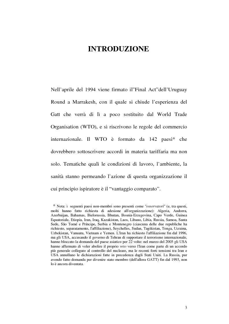 Anteprima della tesi: Tracciabilità: Uno strumento per gestire la concorrenza sul mercato internazionale, Pagina 1