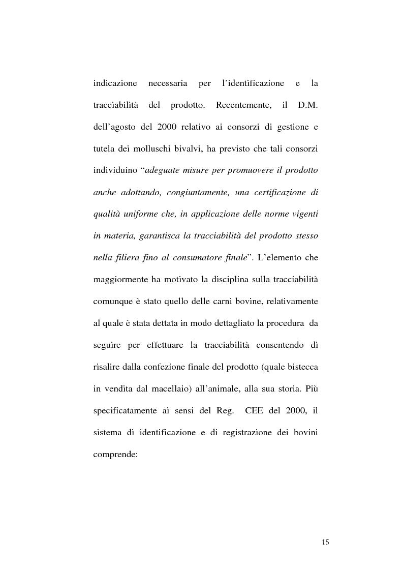 Anteprima della tesi: Tracciabilità: Uno strumento per gestire la concorrenza sul mercato internazionale, Pagina 13