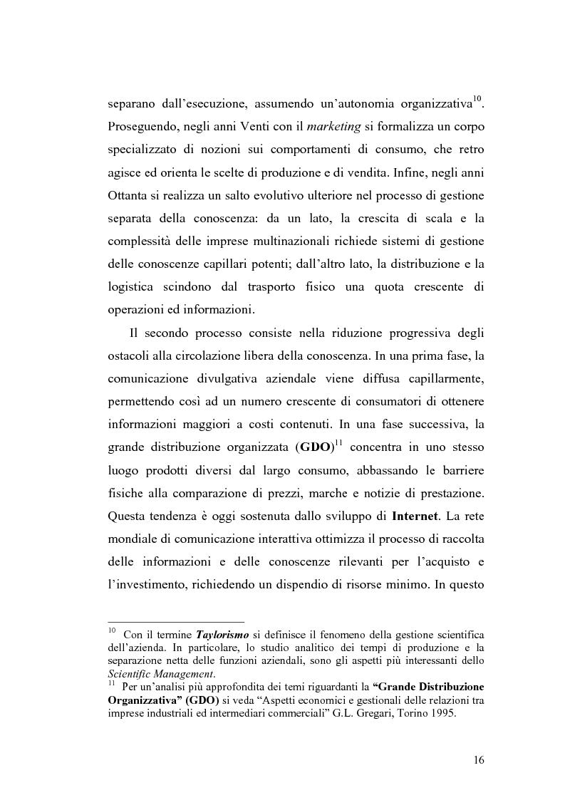 Anteprima della tesi: Problematiche di definizione ed analisi strategica nel settore delle Tecnologie dell'Informazione e della Comunicazione, Pagina 10