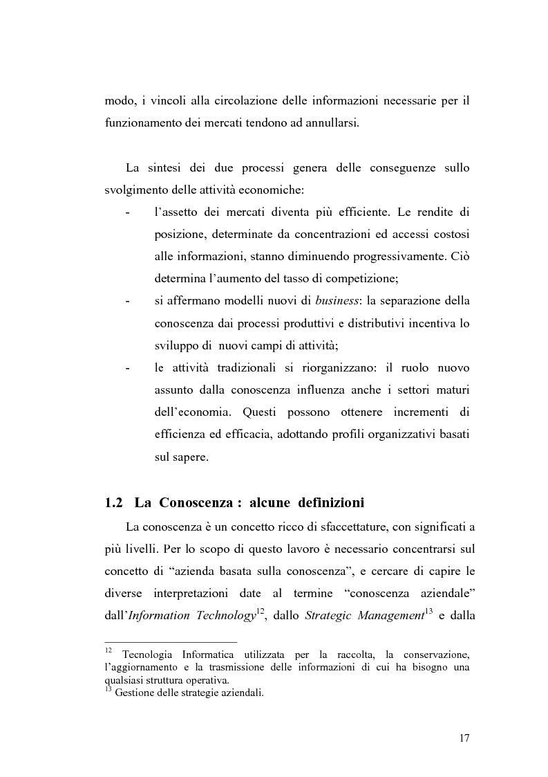 Anteprima della tesi: Problematiche di definizione ed analisi strategica nel settore delle Tecnologie dell'Informazione e della Comunicazione, Pagina 11
