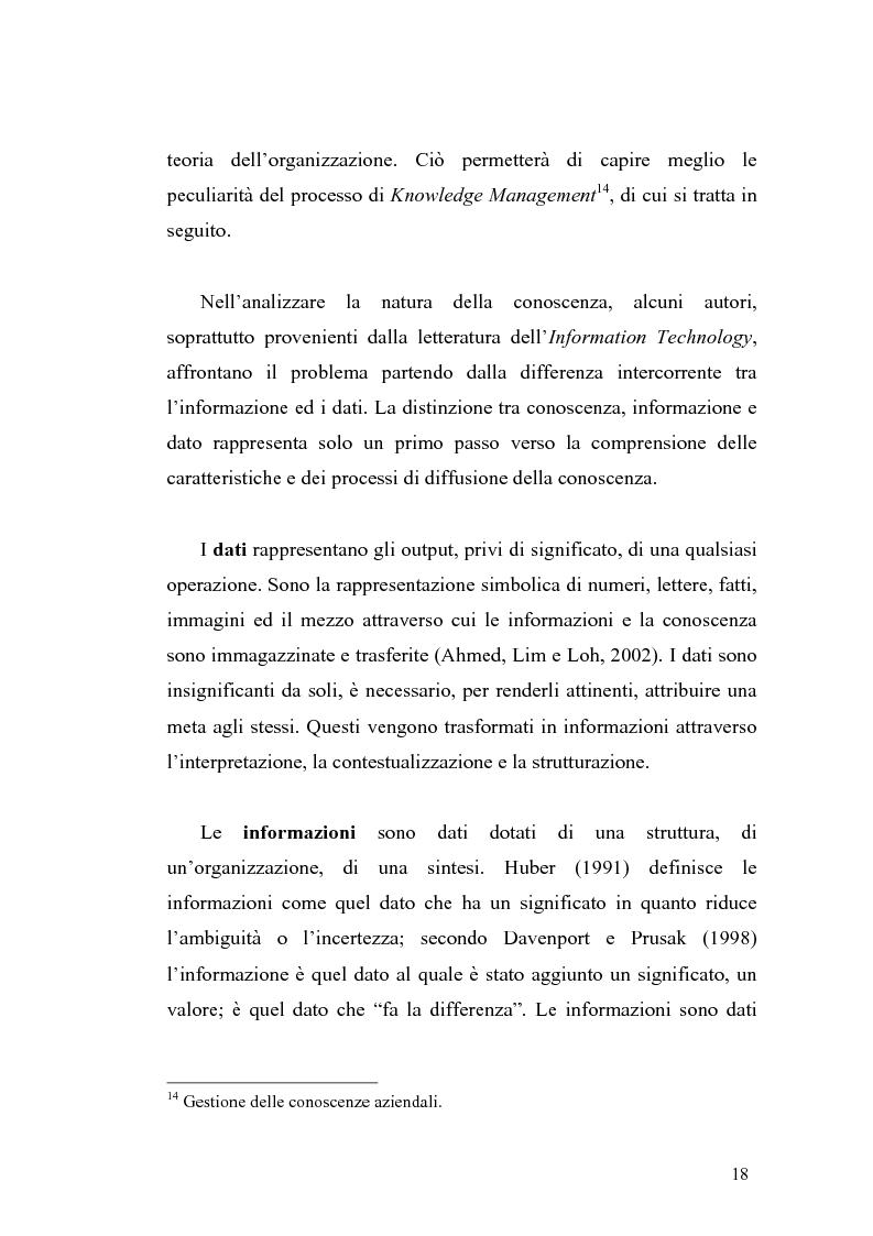 Anteprima della tesi: Problematiche di definizione ed analisi strategica nel settore delle Tecnologie dell'Informazione e della Comunicazione, Pagina 12