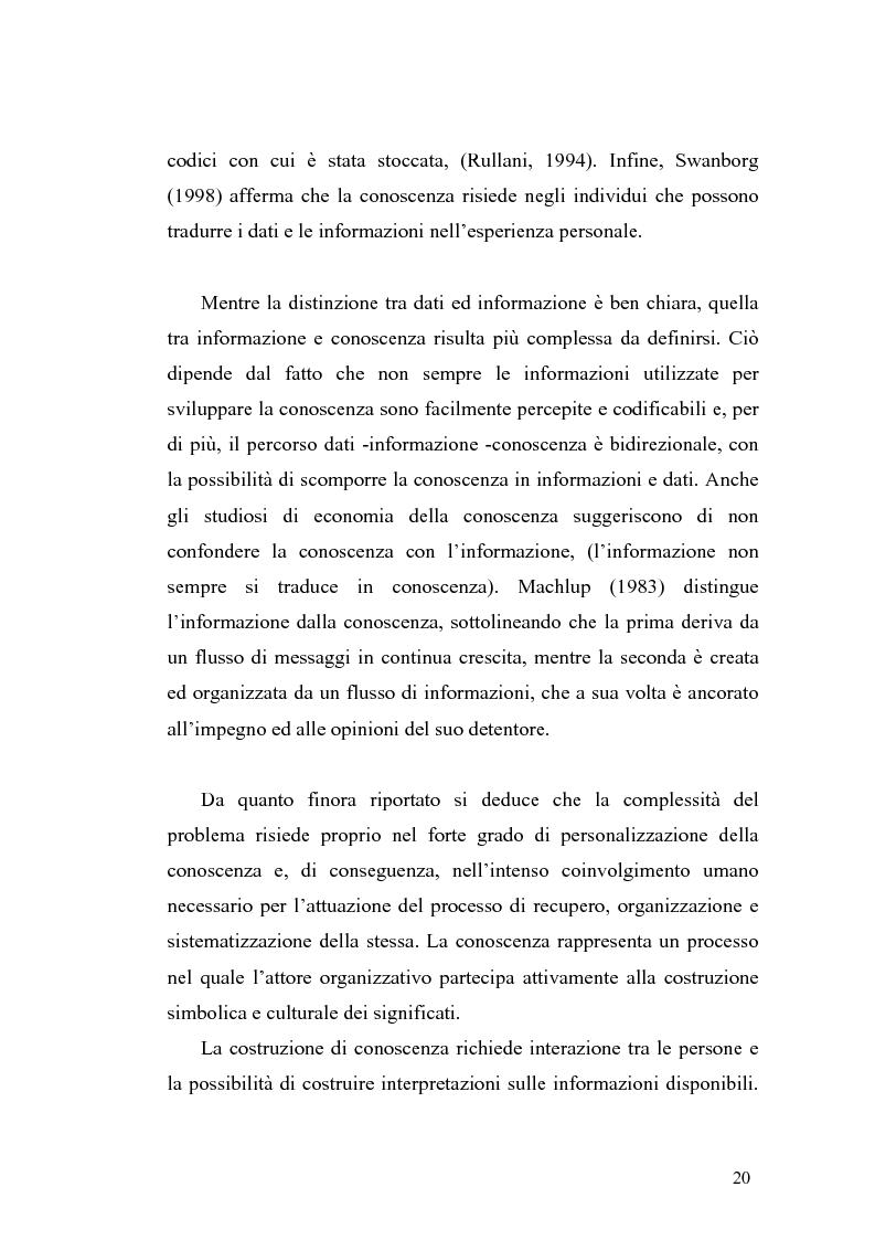 Anteprima della tesi: Problematiche di definizione ed analisi strategica nel settore delle Tecnologie dell'Informazione e della Comunicazione, Pagina 14