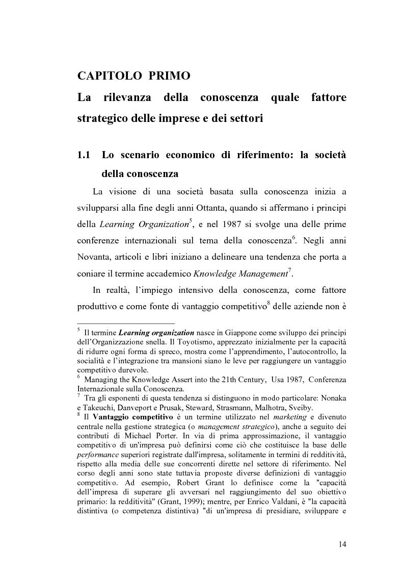 Anteprima della tesi: Problematiche di definizione ed analisi strategica nel settore delle Tecnologie dell'Informazione e della Comunicazione, Pagina 8