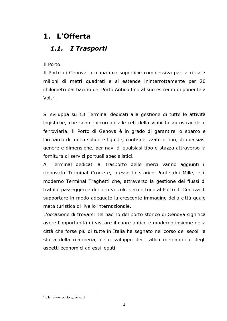 Anteprima della tesi: Gli eventi aggregativi a Genova, Pagina 2