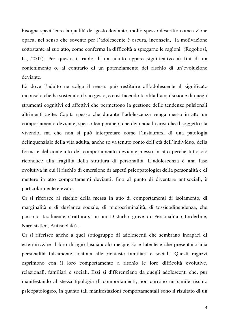 Anteprima della tesi: Cause e prevenzione della devianza giovanile, Pagina 2
