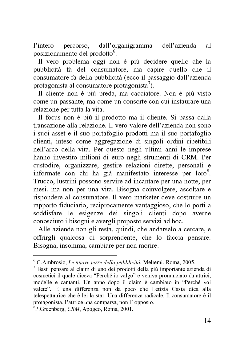 Anteprima della tesi: Advergame: quando la pubblicità diventa un gioco, Pagina 10
