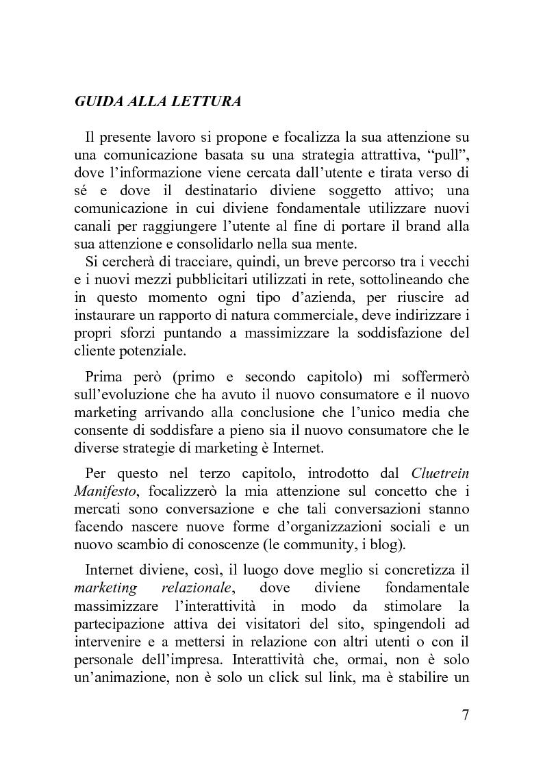 Anteprima della tesi: Advergame: quando la pubblicità diventa un gioco, Pagina 3