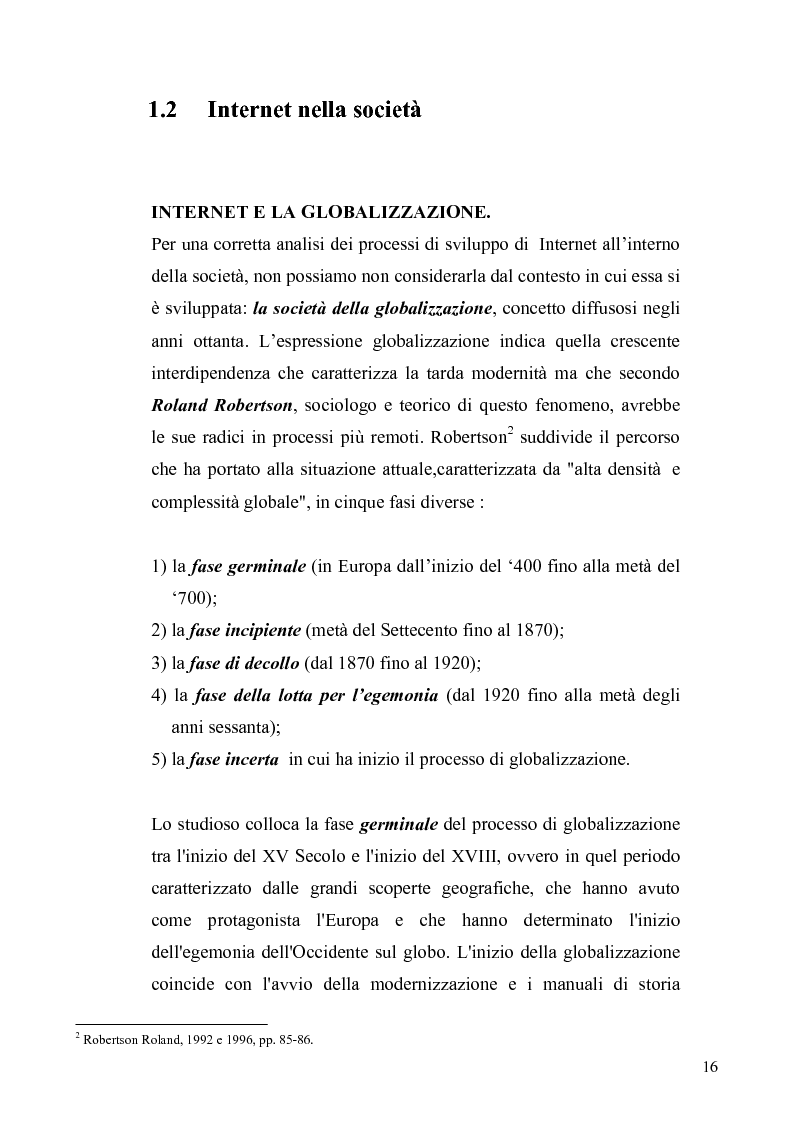 Anteprima della tesi: Dinamiche e frontiere del giornalismo on line. Il caso del Giornale dell'Umbria., Pagina 11