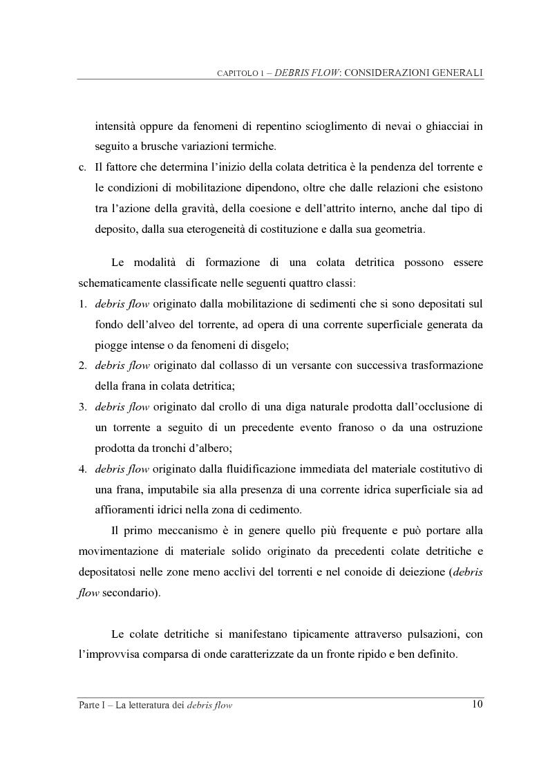 Anteprima della tesi: Indagine sperimentale sul ruolo della scabrezza nel moto di correnti granulari, Pagina 10