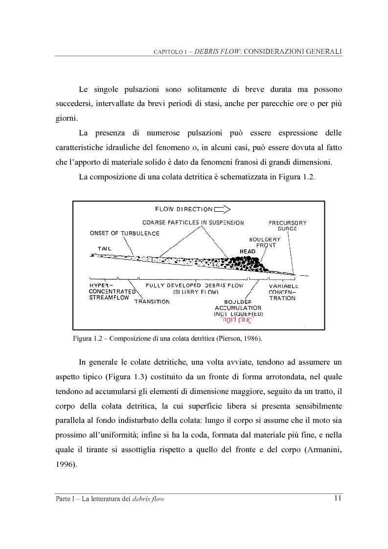 Anteprima della tesi: Indagine sperimentale sul ruolo della scabrezza nel moto di correnti granulari, Pagina 11