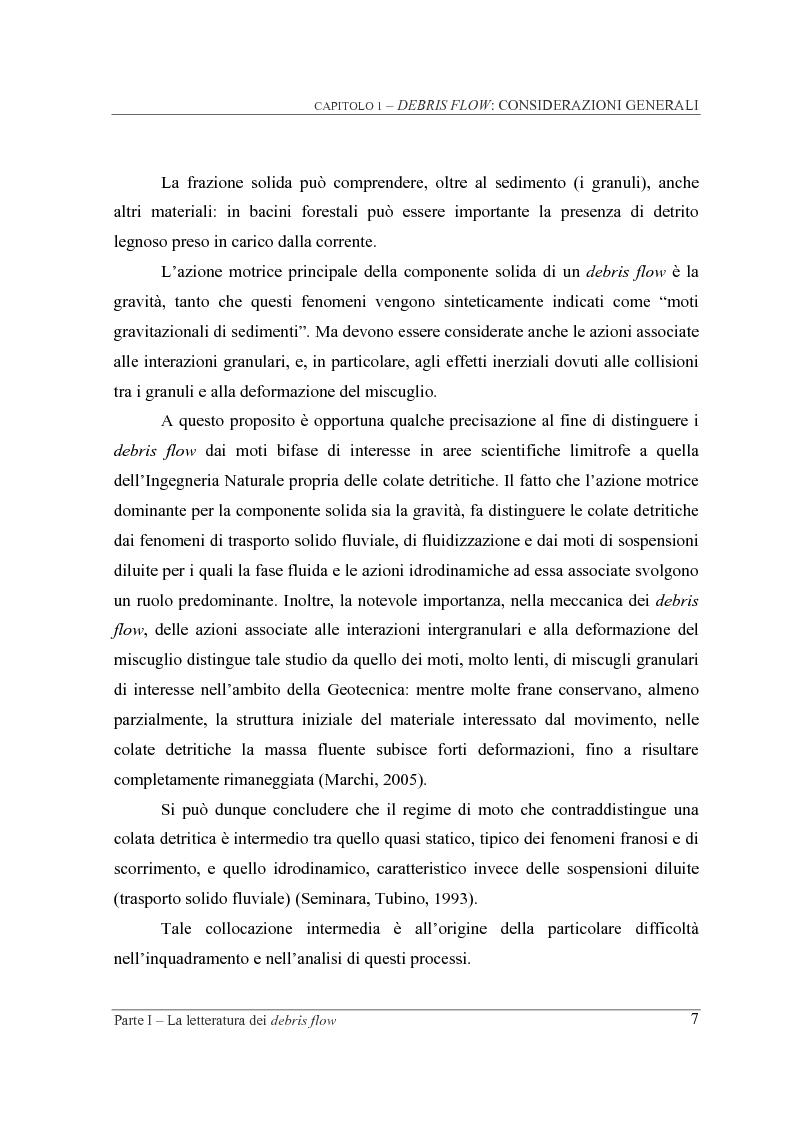 Anteprima della tesi: Indagine sperimentale sul ruolo della scabrezza nel moto di correnti granulari, Pagina 7