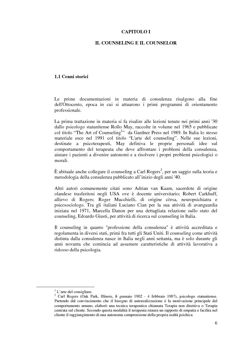 Anteprima della tesi: Aiutare le persone ad aiutarsi. La buona comunicazione a scuola., Pagina 3