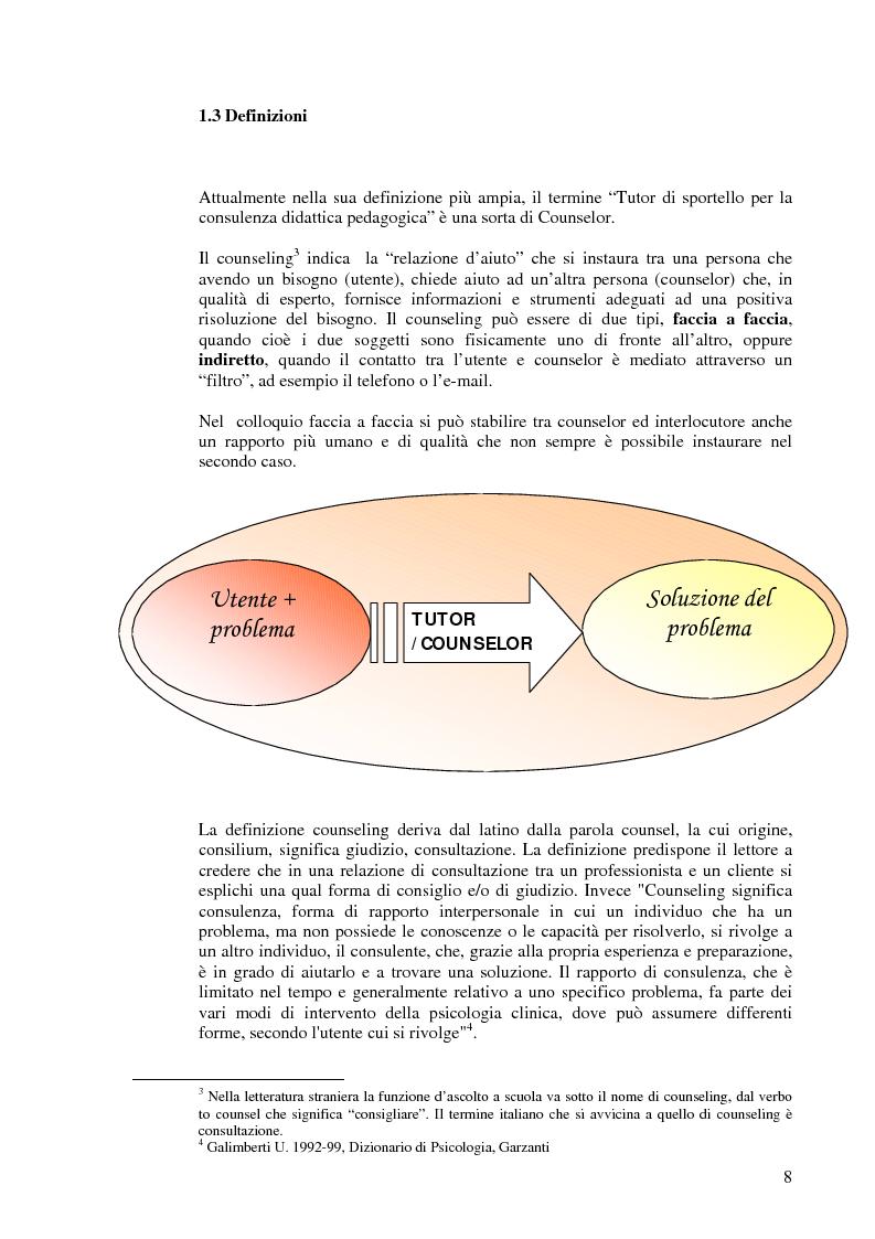 Anteprima della tesi: Aiutare le persone ad aiutarsi. La buona comunicazione a scuola., Pagina 5