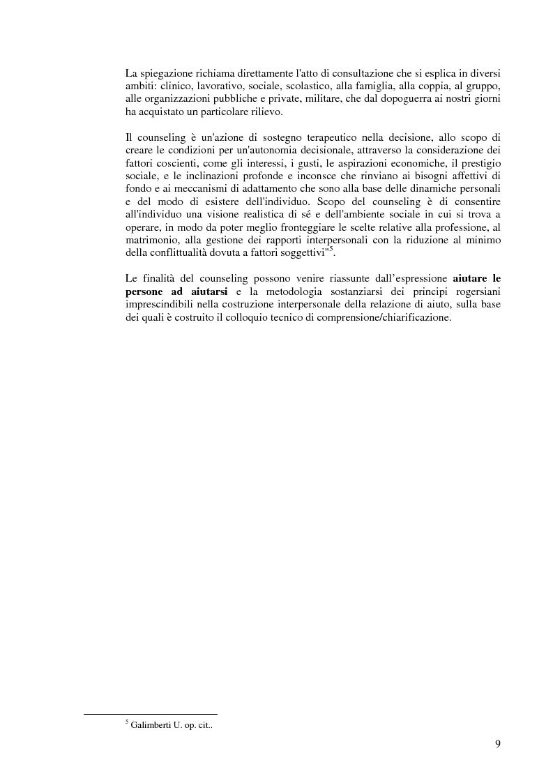 Anteprima della tesi: Aiutare le persone ad aiutarsi. La buona comunicazione a scuola., Pagina 6