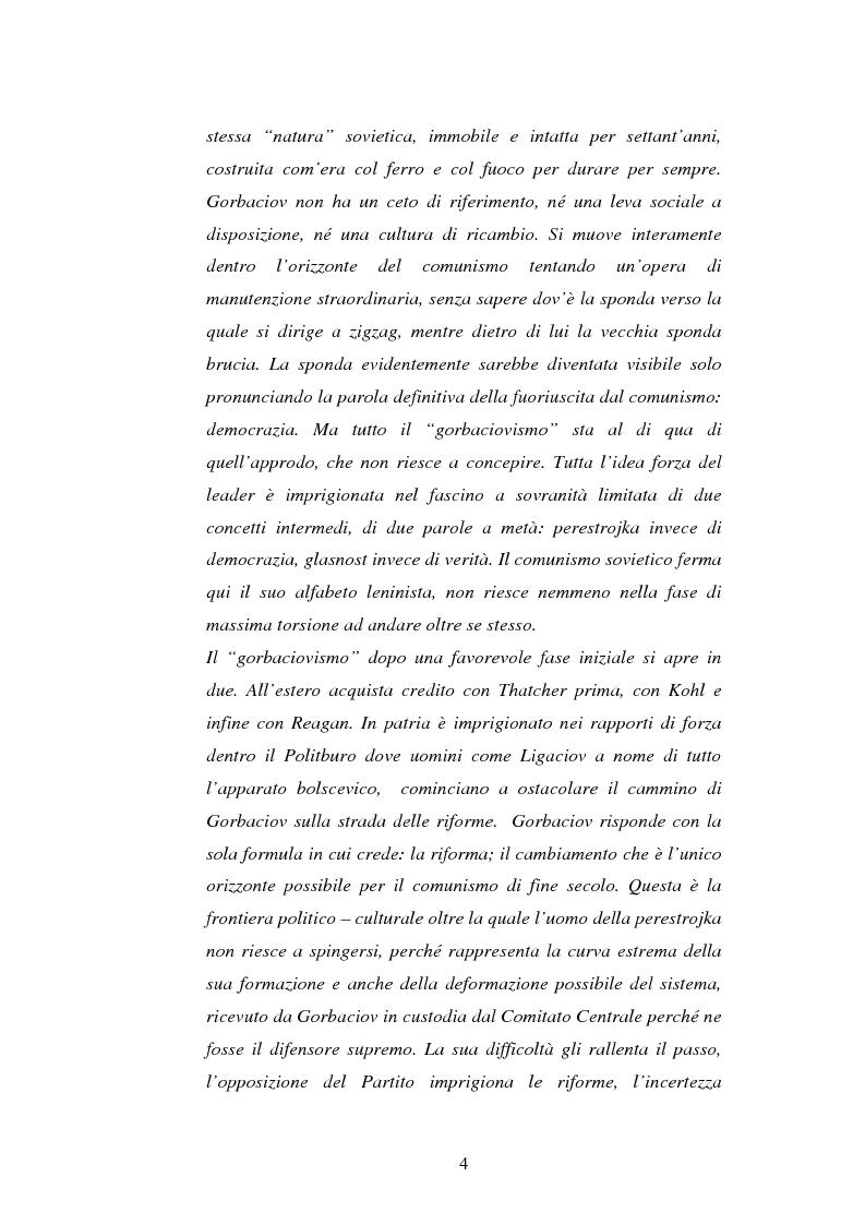 Anteprima della tesi: L'Urss dalla perestrojka al crollo, Pagina 4